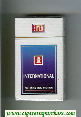 Discount International I Siyem 90s cigarettes hard box
