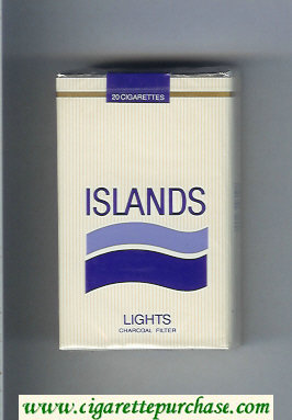 Discount Islands Lights cigarettes soft box
