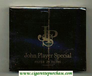 John Player Special Filter 25 Filtre cigarettes wide flat hard box