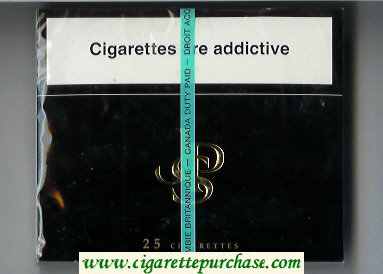 John Player Special 25 cigarettes wide flat hard box