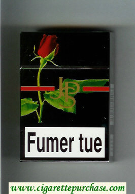 Discount John Player Special Fumer tue black with red line cigarettes hard box