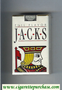 Jacks Full Flavor cigarettes soft box
