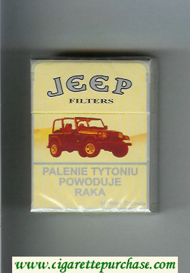 Jeep Filters cigarettes hard box