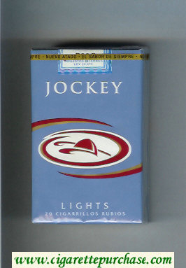 Discount Jockey Lights cigarettes soft box