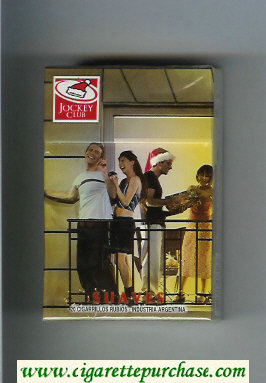 Discount Jockey Club Suaves hard box cigarettes