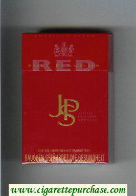 John Player Special Red Full Flavour red cigarettes hard box