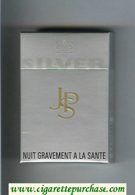 Discount John Player Special Silver Lights silver cigarettes hard box