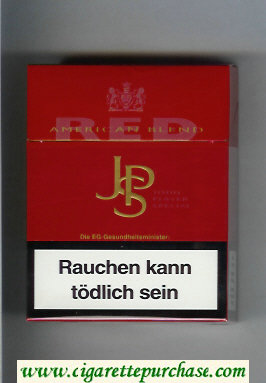 Discount John Player Special Red American Blend red 24s cigarettes hard box