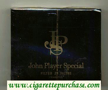 John Player Special cigarettes 25s wide flat hard box