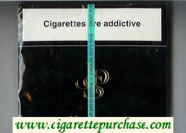 John Player Special 25s cigarettes wide flat hard box
