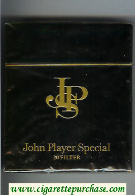Discount John Player Special 20 Filter 100s cigarettes wide flat hard box