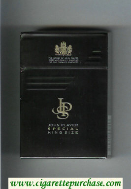 Discount John Player Special cigarettes hard box