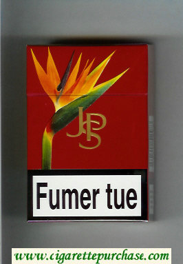 Discount John Player Special red cigarettes hard box