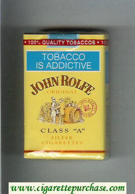 Discount John Rolfe Original cigarettes soft box