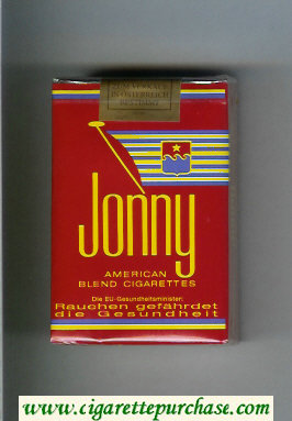 Jonny American Blend red cigarettes soft box
