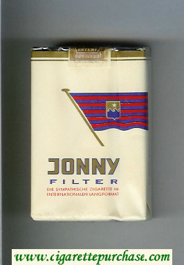 Jonny Filter white cigarettes soft box
