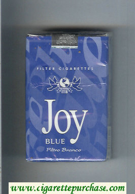 Joy Blue Filtro Branco blue cigarettes soft box