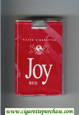 Joy Red Filter cigarettes soft box