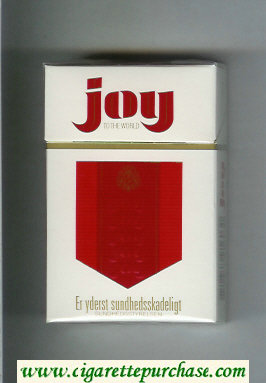 Joy To The World cigarettes hard box