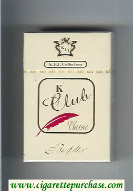 K Club Bio-filter Classic cigarettes hard box