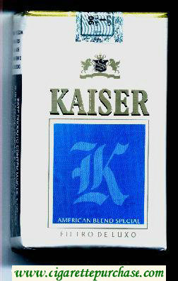 Kaiser blue cigarettes soft box