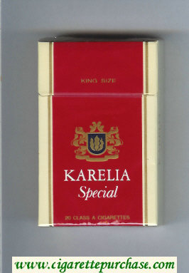 Karelia Special cigarettes hard box