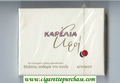 Karelia Aeoi T cigarettes wide flat hard box