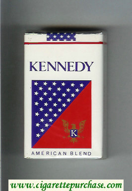 Kennedy American Blend cigarettes soft box