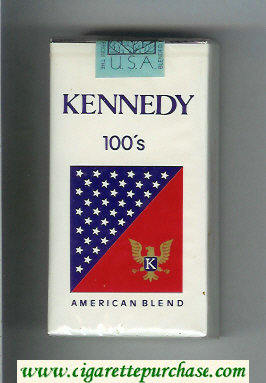 Kennedy 100s American Blend cigarettes soft box