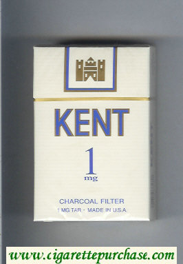 Discount Kent 1 mg Charcoal Filter cigarettes hard box