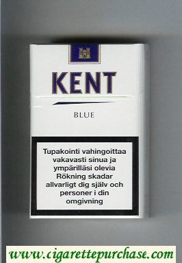 Discount Kent Blue cigarettes hard box