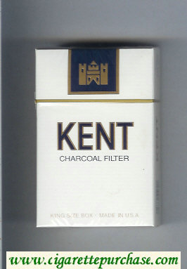 Discount Kent Charcoal Filter cigarettes hard box