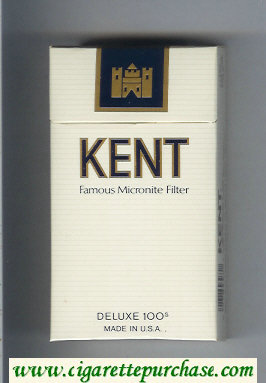Discount Kent Famous Micronite Filter 100s cigarettes hard box
