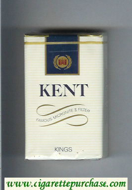Kent Famous Micronite II Filter cigarettes soft box