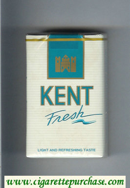 Kent Fresh cigarettes soft box