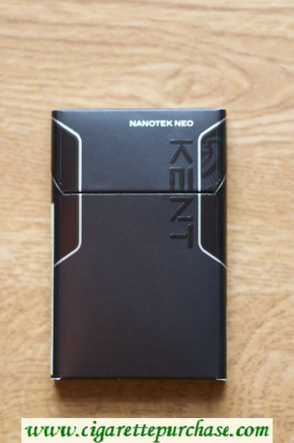 Kent Nanotek Neo Slims cigarettes hard box