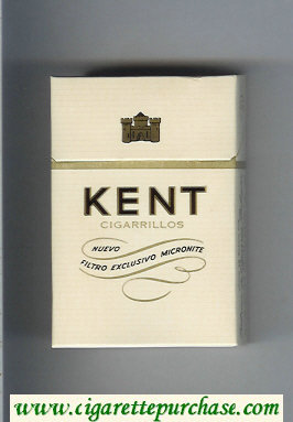 Kent Nuevo Filtro Exclusivo Micronite cigarettes hard box
