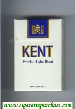 Discount Kent Premium Lights Blend cigarettes hard box