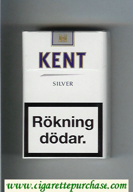 Discount Kent Silver cigarettes hard box