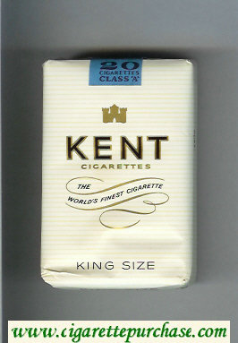 Discount Kent cigarettes The World's Finest Cigarette soft box