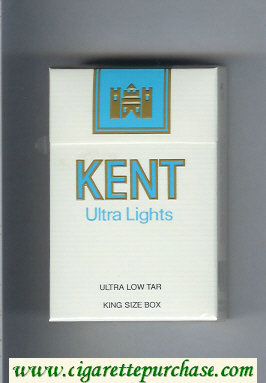 Discount Kent Ultra Lights cigarettes hard box