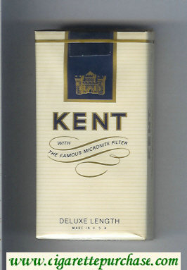 Discount Kent With The Famous Micronite Filter Deluxe 100s cigarettes soft box
