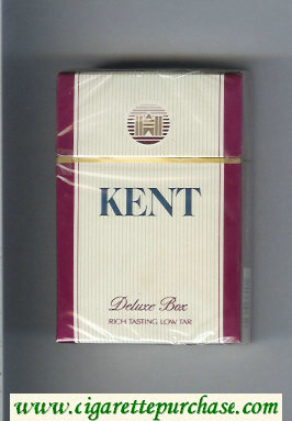 Discount Kent Deluxe box cigarettes hard box