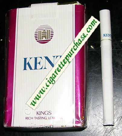 Kent Kings cigarettes soft box