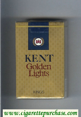 Discount Kent Golden Lights kings cigarettes soft box