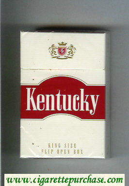 Kentucky King Size cigarettes hard box