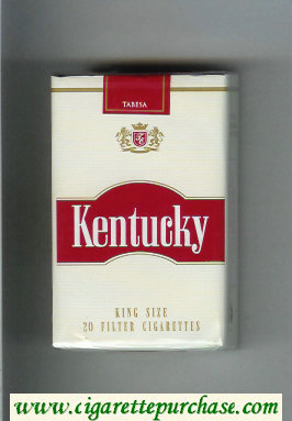 Kentucky King Size cigarettes soft box