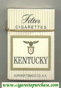 Kentucky cigarettes hard box