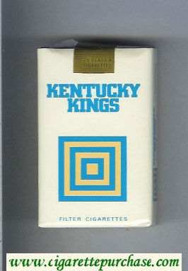 Kentucky Kings Filter cigarettes soft box