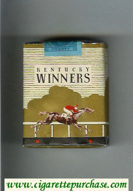 Kentucky Winners cigarettes soft box